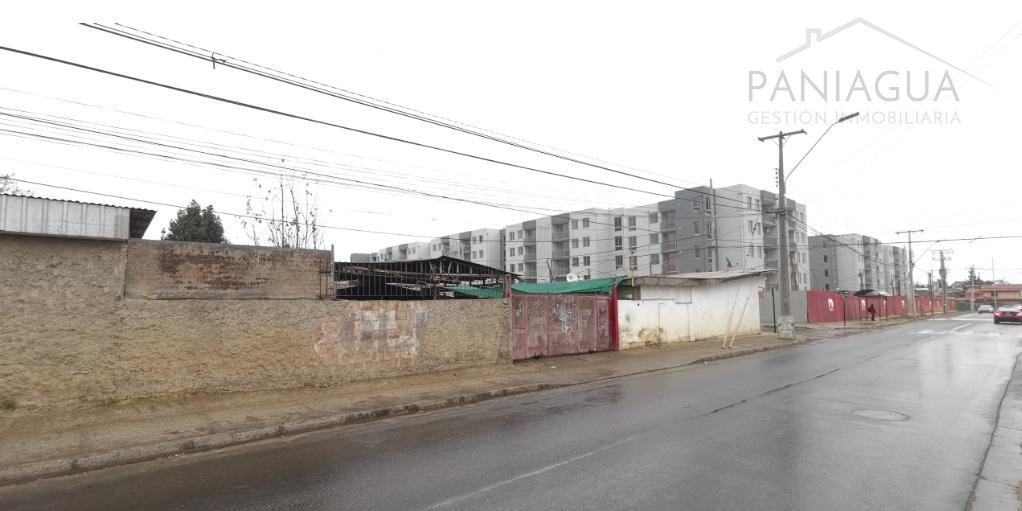 Terreno en venta con construcción antigua, Poblacion Prat Villa Alemana.